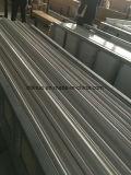 Linha de contorno decorativa do PVC e da pedra