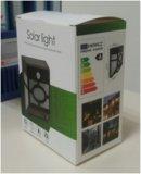 太陽壁ライト、白、10PCS SMD3528 LED、1W、70lmの動きセンサー+一定したライト+光量制御