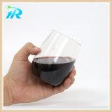 cuvette en plastique de courbe de doigt du vin 220ml, glace en plastique de Margarita