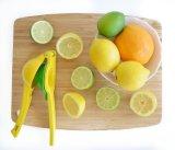 Squeezer superior Rated superior do cal do limão do metal da qualidade de Zulay de 3 cores - imprensa manual Juicere do citrino, Juicer de borracha do limão do silicone (YX-LJ-144)