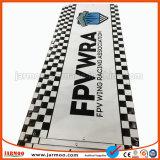 Bandiera esterna della flessione del PVC Frontlit con gli indumenti