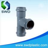 Adaptador de presión de PVC igual T (F/F/F)