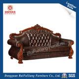 Кожаный диван (N998)