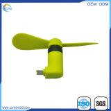 夏の小道具旅行スマートな電話が付いている携帯用小型USBのファン