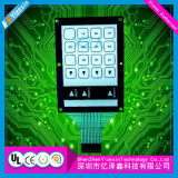 Tactile Capacitive membrane key board SWITCH with LCD Window