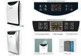 Homecleaner UV avec une vraie filtre HEPA purificateur d'air, à compter de la dépose de la poussière, la squame animale, de fumée, les spores de moisissure et les odeurs des ménages, à la maison avec humidificateur purificateur d'air