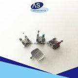 歯科材料の製造業者のセリウムのFDA ISOの歯科矯正学の金属のBraketsの工場