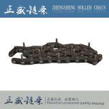 Chaîne de rouleau de boîte de vitesses de bande de conveyeur et d'acier inoxydable