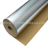 Faser gelegte Baumwollstoffe für Gebäude - Zwischenschicht Forvapor durchlässige Unterlage-, Luft-und Dampf-Sperren (Alu und PET-Filme)