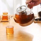 Чайник нижнего бора нержавеющей стали стеклянный с фильтром чая