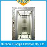 elevador luxuoso do passageiro da decoração da capacidade 1000kg por tecnologia avançada