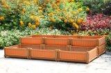 拡張可能な車輪のトレリスのFlynetの温室によって上げられる庭のベッドが付いている植木鉢をアセンブルしなさい