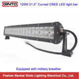 트럭을%s 120W 크리 사람 21.5inch에 의하여 구부려지는 LED 표시등 막대