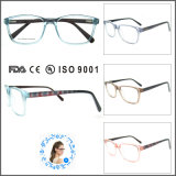 Frame quente de Eyewear do Sell dos Eyeglasses do acetato da venda por atacado do projeto da forma