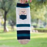 Les femmes de l'équipage caricature drôle Modèle Animal Socks Chaussettes de cheville