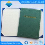 Het Stempelen van het Embleem van de Folie van de douane de Omslag van de Graduatie van het Karton van het Document