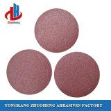 Discos de papel de lixamento abrasivos de 9 polegadas para o funcionamento do metal (VD0809)