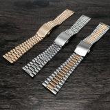 bracelet de montre 20mm solide d'acier inoxydable de 12mm 14mm 16mm 18mm