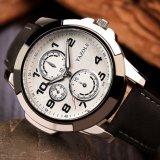 Sport-Uhr-wasserdichte Quarz-Mann-Uhr der Qualitäts-H350 mit kleinem Vorwahlknopf für Dekoration