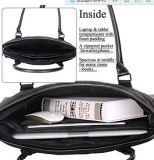 Signora classica di nylon Laptop Handbag della cartella del calcolatore del sacchetto di Tote del computer portatile della donna