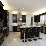 2018 Muebles de cocina de alto brillo MDF lacado Armario de Cocina