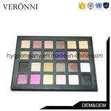 Caliente-Vendiendo colores del cosmético 24 impermeabilizar la gama de colores del sombreador de ojos del reflejo