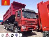 Sinotruk HOWO 6X4 트럭 30ton 덤프 또는 팁 주는 사람 트럭