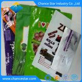 OEM personalizado perlados de plástico compuesto de la película de la bolsa de comida