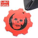 Spitzenverkaufs-lustige kundenspezifische weiche Decklack-Halloween-Metallmedaille mit Farbband