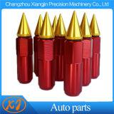 20 noci estese appuntite nere rosse dell'aletta del sintonizzatore di PCS M12X1.5