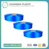 高い粘着性のPPのマルチフィラメント青いFDYのヤーン1500d