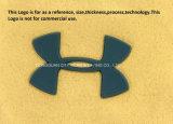 Impresión de transferencia de calor de silicona para el logotipo de la marca de ropa