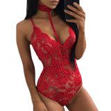 2018 Sexy Erotisch van vrouwen plus de Lingerie van Teddy van de Grootte