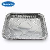 Les plaques d'aluminium à usage unique pour le restaurant de l'emballage