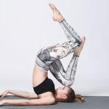 De Broek van de Gymnastiek en van de Yoga van de Slijtage van de Geschiktheid van vrouwen past Afgedrukt Patroon aan