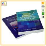 中国Professionaの薄紙表紙の本の印刷(OEM-GL032)