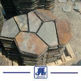 Rusty natural/amarelo/cinza/Cinza para revestimento de paredes/piso/Pavimentação/decoração exterior