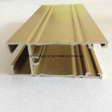Quadrat, rundes, unterschiedliches Aluminiumlegierung-Strangpresßling-Profil für Tür und Fenster-Gefäß 39