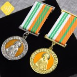 Fait en usine Meilleure qualité de médailles d'or de souvenirs personnalisés