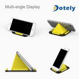 Carrinho Desktop da pirâmide, ângulos ajustáveis do silicone Non-Slip Washable para telefones