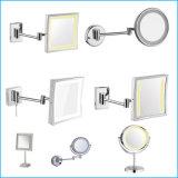Espejo cosmético ligero redondo montado en la pared del cuarto de baño del espejo del estilo LED que afeita la luz del espejo LED
