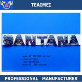 Значок эмблемы письма автомобиля VW Santana серебра крома ABS