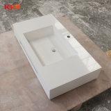 Lavabo de marbre de bassin de salle de bains d'hôtel d'Onxy (B1711249)