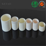 Crisoles de cerámica del alúmina de alta temperatura 1800c
