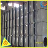GRP de alta qualidade do tanque de água de corte transversal com grandes volumes