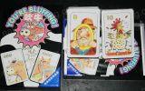 Lustige Brettspiel-kundenspezifische Spielkarte-fördernde Brettspiel-Stücke