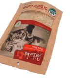 La chiusura lampo biodegradabile su ordinazione della carta kraft Della stampa si leva in piedi in su i sacchetti del sacchetto per l'imballaggio per alimenti