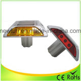 Heißer roter LED Solarstraßen-Stift des Verkaufs-Aluminium-IP68