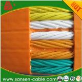 工場Produced 300/500V H05vvh6-F 24*1.0mm2 Flat Travelling Elevator Trailing Cable