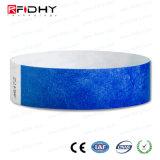 無接触の工場価格RFID Tyvekのリスト・ストラップ